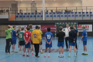 Fokus och engagemang hos sökande till NIU Handboll på TG-idrott